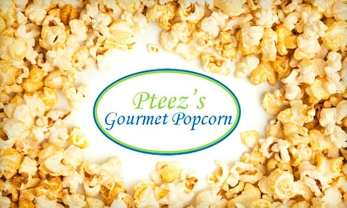 Pteez's Gourmet Popcorn - Cedar Hills: $5 for $10 Worth of Popcorn, Nuts, and Carnival Fare at Pteez's Gourmet Popcorn