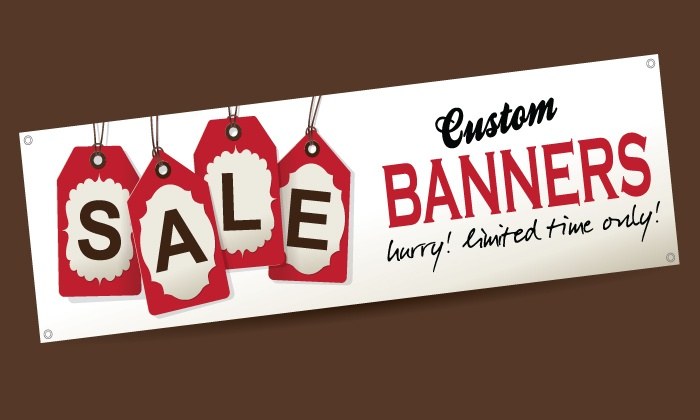 ABC Sign Solutions - ABC Sign Solutions: $50 for a 3'x6' Banner from ABC Sign Solutions ($100 Value)