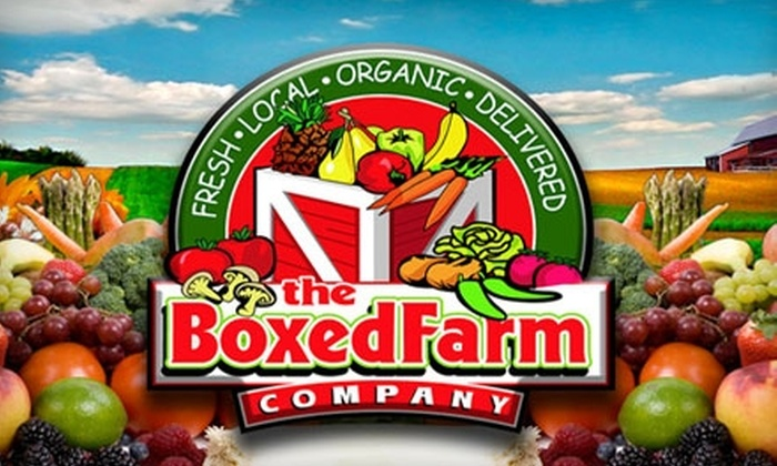 The Boxed Farm Company - San Jose: $25 for a Box of Fresh Produce and More Plus Delivery from The Boxed Farm Company ($50 Value)