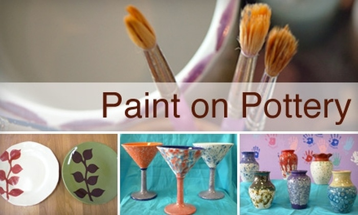 Paint on Pottery - Bellair-Meadowbrook Terrace: $10 for $20 Worth of Paint-Your-Own Pottery at Paint On Pottery