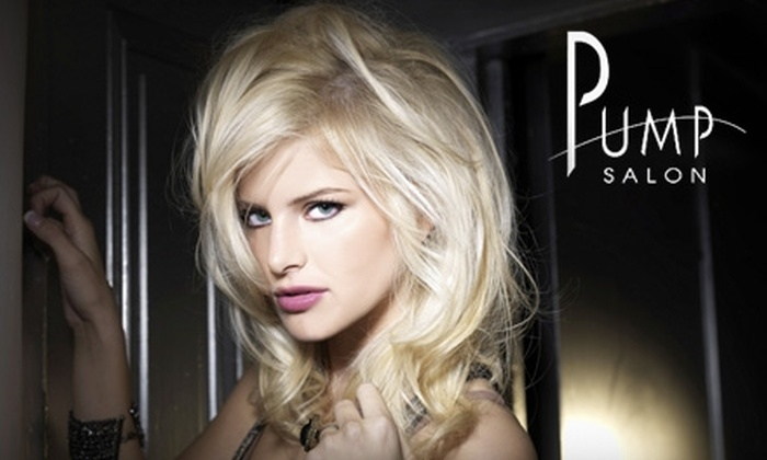 Pump Salon - Multiple Locations: $25 for $50 Worth of Hair Services at Pump Salon