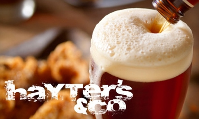 Hayter's and Co. - LoDo: $10 for $20 Worth of Sports Pub Fare and Drinks at Hayter's and Co.