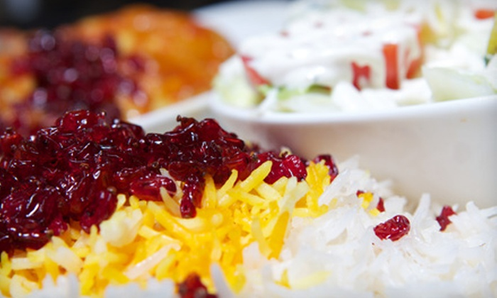 Zeitoon Resturant - North Vancouver: Persian Fare and Drinks for Two or Four at Zeitoon Restaurant in North Vancouver (Up to 51% Off)