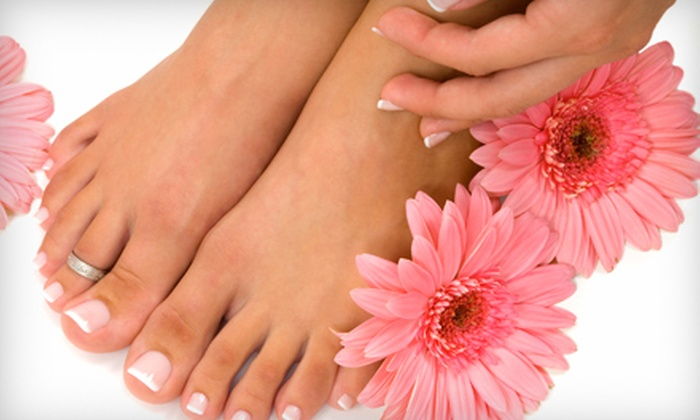 Salon Beleza - Mount Lebanon: $40 for a Gelish Manicure and Regular Pedicure at Salon Beleza