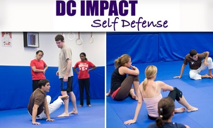 DC IMPACT - Downtown - Penn Quarter - Chinatown: $39 Self-Defense Workshop from DC IMPACT ($79 Value). Buy Here for January 24 in Chinatown. See Below for Alternate Date and Location.