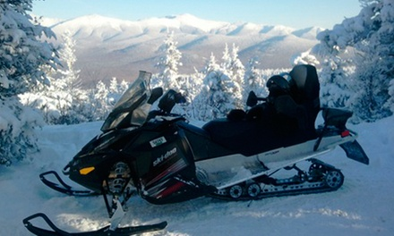 Guided Snowmobile Tour from SledVentures Snowmobile Rentals (Up to 49% Off). Four Options Available.