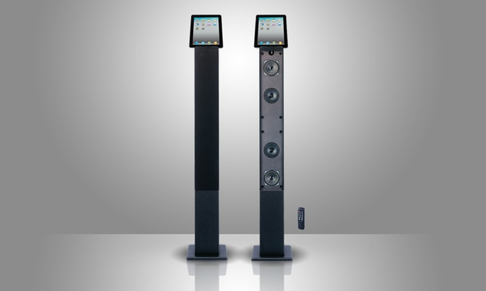 Craig 2.1-Channel Speaker System: Craig 2.1-Channel Tower Speaker System with Optional Bluetooth. Free Shipping and Returns.