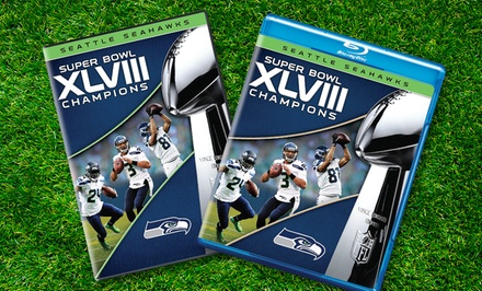 2014 Pro-Football Champions: Seattle Seahawks on DVD or Blu-ray from $14.99–$19.99. Free Returns.