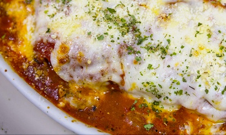 $18 for $30 Worth of Italian Dinner for Two at Bianca's Ristorante