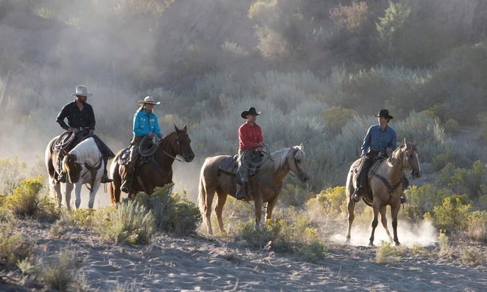 Rocky Mountain Outfitters - Midway: $65 for a Horseback Ride for Two at Rocky Mountain Outfitters ($130 Value)