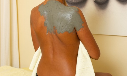 $69 for Mud Soak & Wrap with Salt Scrub & Tightening Facial Mask at Goddess of Beauty ($479 Value)