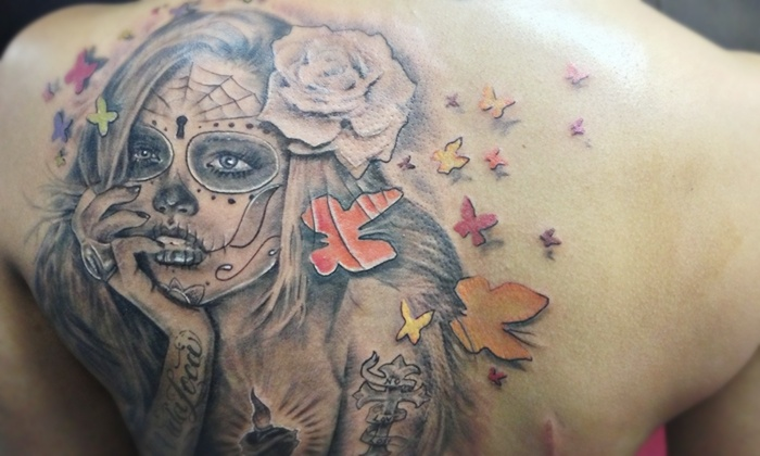 GunMetal Ink - North End: Tattoo or Tattoo-Removal Sessions at GunMetal Ink (Up to 73% Off). Six Options Available.