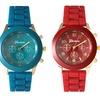 Unisex Silicone Quartz Sport Watches