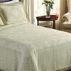 100% Cotton Jacquard-Finish Bedspreads and Shams