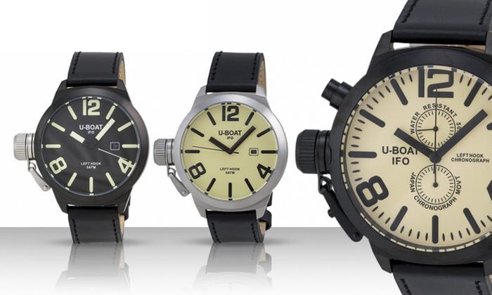 U-Boat Left Hook Men's Watches: U-Boat Left Hook Men's Watches.