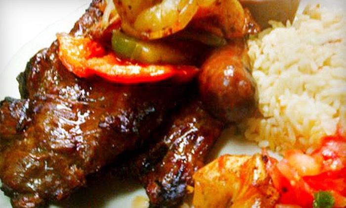 La Casita Pupuseria - Germantown: Salvadoran Cuisine at La Casita Pupuseria (Up to 53% Off). Four Options Available.