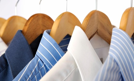Dry Cleaning and Laundry Services at J & J Drycleaners (50% Off)