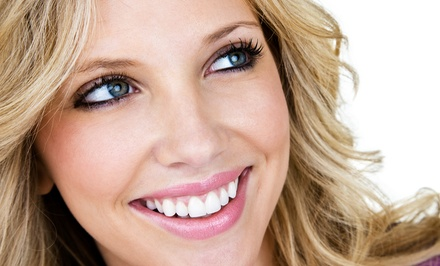 Cleaning, X-Rays, and Optional In-Office Teeth-Whitening at BLVD Dentistry Heights (Up to 85% Off)
