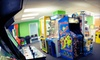 Zig-E's Funland - Saint John: $10 for 100 Arcade Tokens and Two Bags of Popcorn at Zig-E's Funland ($22 Value)
