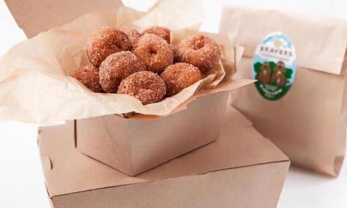 Beavers Donuts Food Truck - West Loop: Mini Donuts at Beavers Donuts Food Truck (Up to 44% Off). Three Options Available.