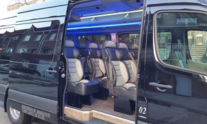 Aeroexpress: Six-Hour Party Bus Rental from Aeroexpress (30% Off)