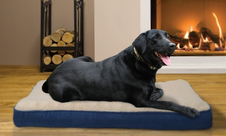 NAP Faux-Sheepskin Orthopedic Pet Mattress. Multiple Sizes from 22.99–$27.99. Free Returns.