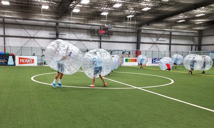BucksMont Indoor Sports Center - Hatfield: Bubble Ball Soccer League Registration for Individual or Team at BucksMont Indoor Sports Center (Up to 37%Off)