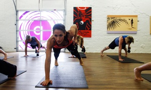 Pilates 1901: 10 Pilates Mat, Cardio, Flow, or Zumba Classes or Intro to Pilates Equipment Training at Pilates 1901 (Up to 79% Off)