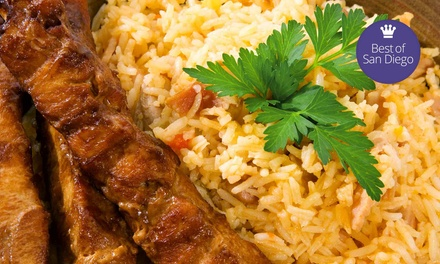 Persian and Greek Cuisine at Alborz Restaurant (Up to 43% Off). Two Options Available.