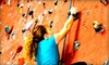 Up to 54% Off Indoor Rock-Climbing Packages
