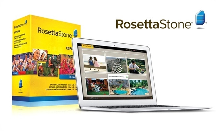 Rosetta Stone French, Italian, or Spanish Level 1–4 Set : Rosetta Stone French, Italian, or Spanish Level 1–4 Set