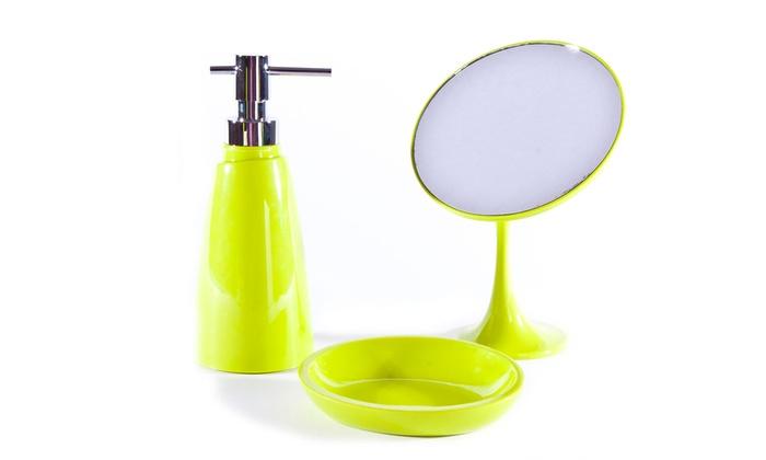 Croydex Bartley Soap Dispenser Purple