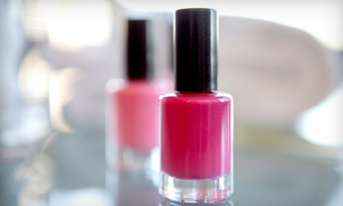 Styling Sun-Sations - Northwood: One or Three Regular or Shellac Manicures at Styling Sun-Sations (Up to 56% Off)