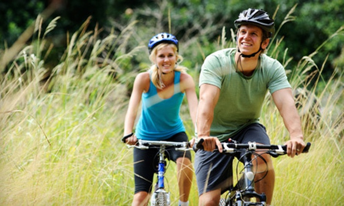 Blue Sky Adventures - Wanship: Half-Day Bike-and-Kayak Trip with Lunch for Two, Four, or Six from Blue Sky Adventures in Wanship (Up to 64% Off)