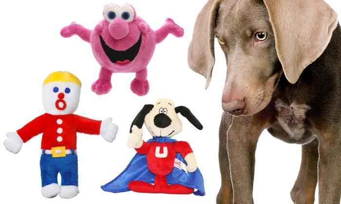 Multipet Mr. Bill, Mr. Bubble, Mr. Magoo, or Underdog Dog Toys. Free Returns.