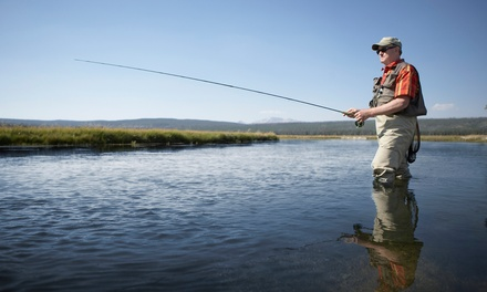 $179 for a Four-Hour Guided Fly-Fishing Trip for Two from Wilderness Trout Expeditions ($300 Value)