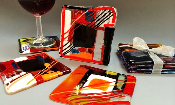 The Glass Palette - Woolen Mills: BYOB Glass Art Making Event at The Glass Palette (Up to 46% Off)