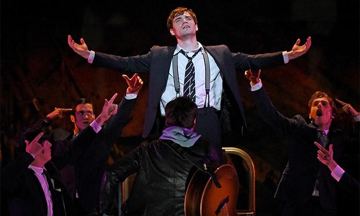 "Spring Awakening - Brooks Atkinson Theatre: Deaf West Theatre's ""Spring Awakening"" on Broadway featuring Marlee Matlin and Camryn Manheim (September 8–29)"