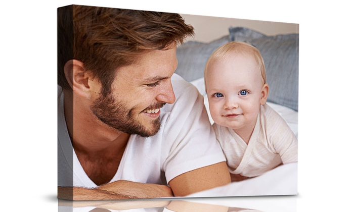 Printerpix: Personalized Thick Framed Premium Gallery-Wrapped Canvas from PrinterPix