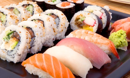 ... Patio Sushi By Zestawy Sushi Patio Con Gusto Kuchnia Chleb Wino Groupon  ...