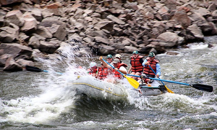 Colorado River Runs - Kremmling-Granby: Half or Full Day of Rafting for Two or Four from Colorado River Runs in Radium (Up to 55% Off)