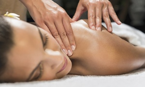 Elite Beauty: Back, Neck and Shoulder Massage with Optional Facial at Elite Beauty (Up to 67% Off)