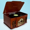 Electrohome Wellington 4-in-1 Turntable Stereo System