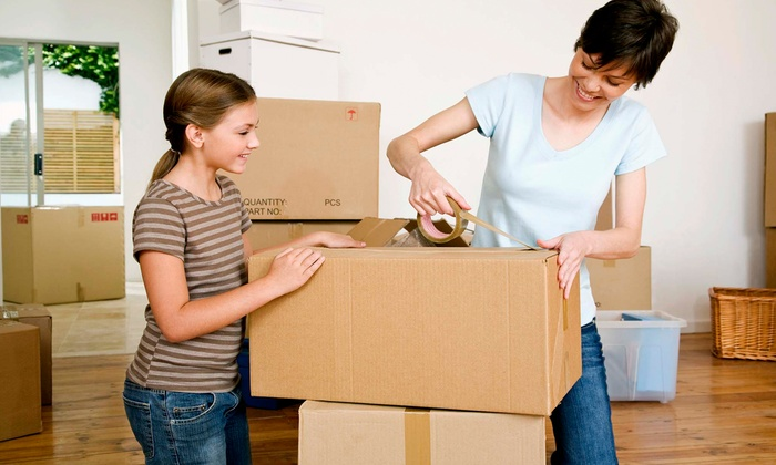 My Town Movers - Collierville: $89 for Two Hours of Moving Services from My Town Movers ($241 Value)