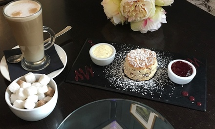 Cream Tea with Optional Glass of Wine For Two or Four at Kings Restaurant