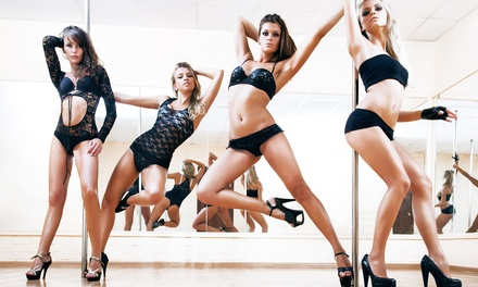 Five Pole-Dancing Classes or Private Party for 15 at Sacramento Pole Dance Studio (Up to 48% Off)