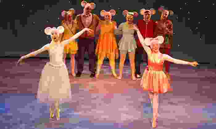 """""""Angelina Ballerina The Musical"""" - Count Basie Theatre: """"Angelina Ballerina The Musical"""" at Count Basie Theatre on October 10 at 4 p.m. (Up to 48% Off)"""