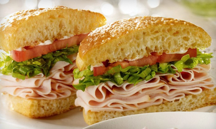 Schlotzsky's - Tallahassee: Sandwich Tray for 10–14 or $10 for $20 Worth of Sandwiches, Pizza, and Salads at Schlotzsky's