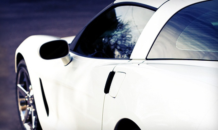 Valet Detail - Central Business District: Tint Matching on Two Windows or Full-Car Window Tinting at Valet Detail (Up to 57% Off)