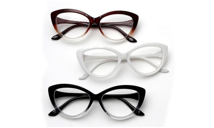 Steve Madden Women\'s Reader Glasses (3-Pack) (2.0 strength) | Groupon